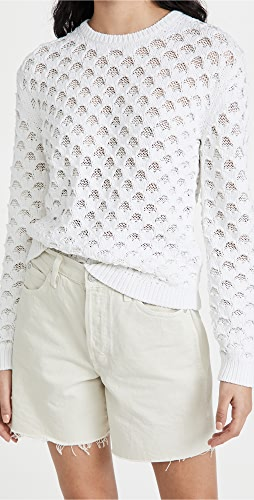 Theory - Overlay Mesh Pullover