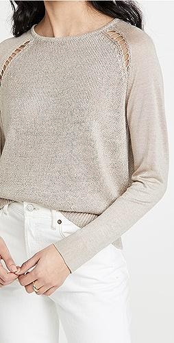 Theory - Multi GG Long Sleeve Sweater