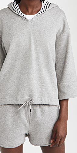 Theory - Reversible Hooded Pullover