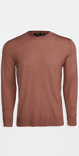 Theory - Wool Crew Neck Pullover
