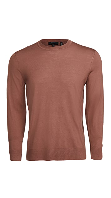 Theory Wool Crew Neck Pullover