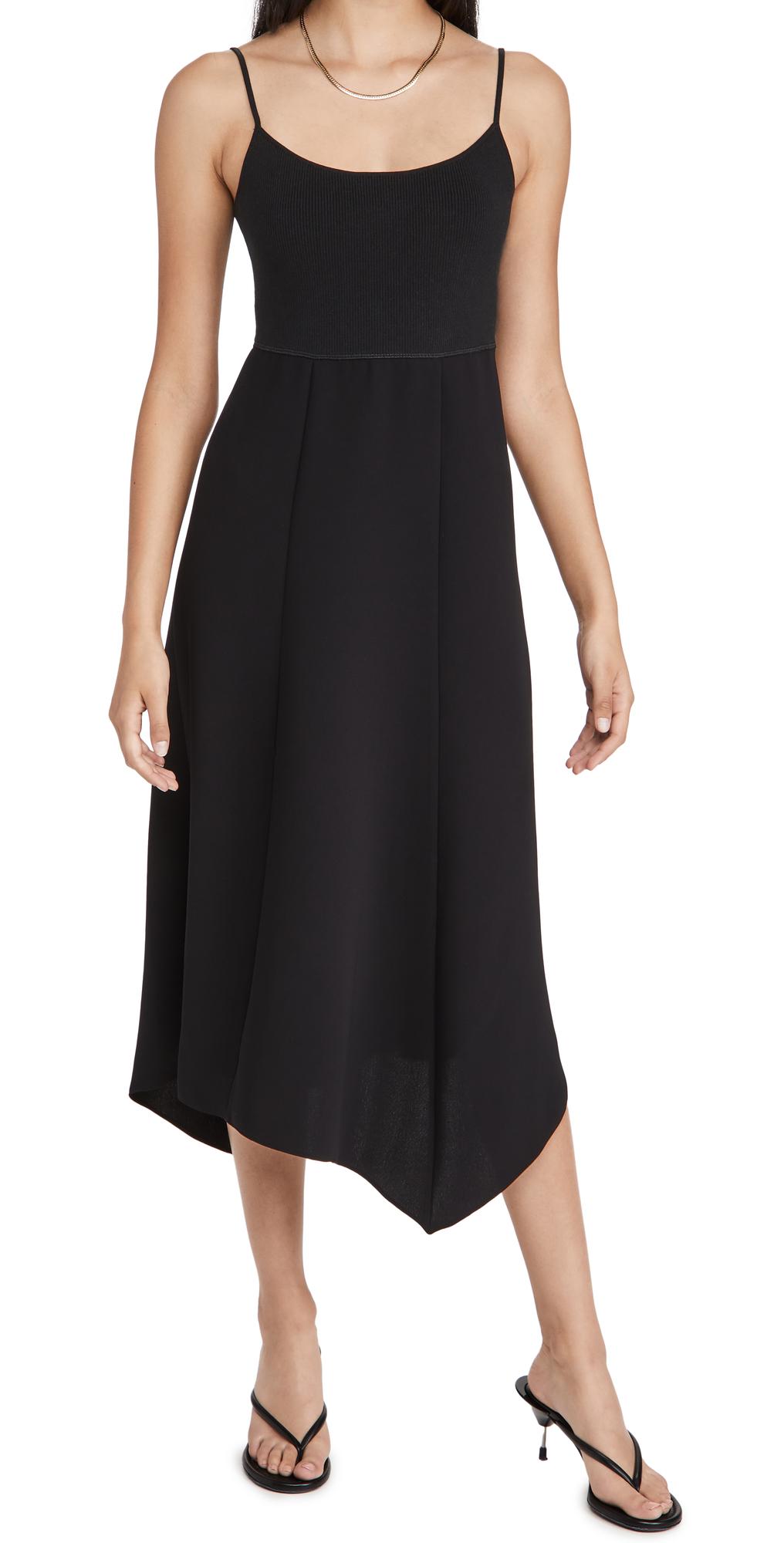 Theory Slip Flared Dress