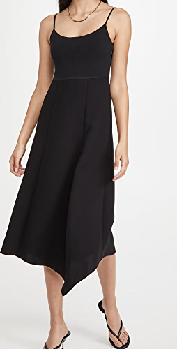 Theory - Slip Flared Dress