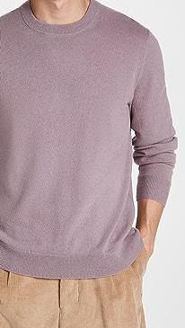 띠어리 스웨터 Theory Hilles Crew Cashmere Sweater