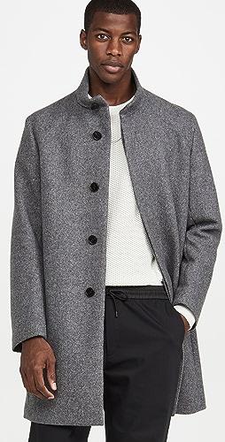 Theory - Belvin Twist Wool Overcoat