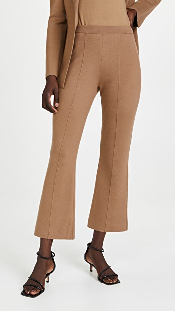 Theory Knit Flare Pants