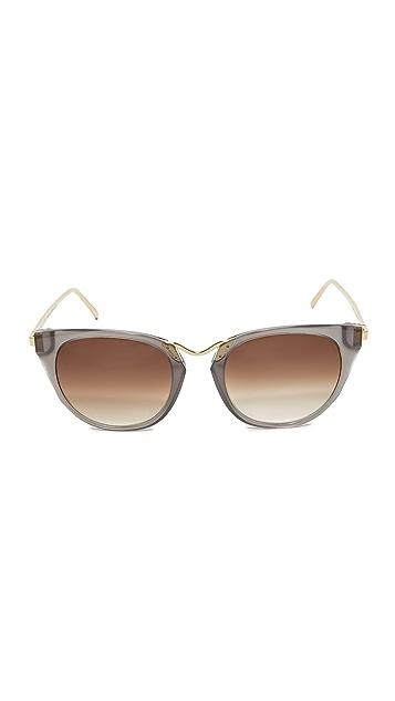 Thierry Lasry Hinky 24k Sunglasses