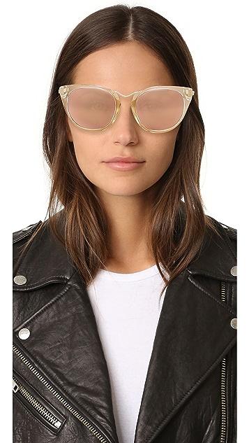 Thierry Lasry Hinky 24K Mirrored Sunglasses