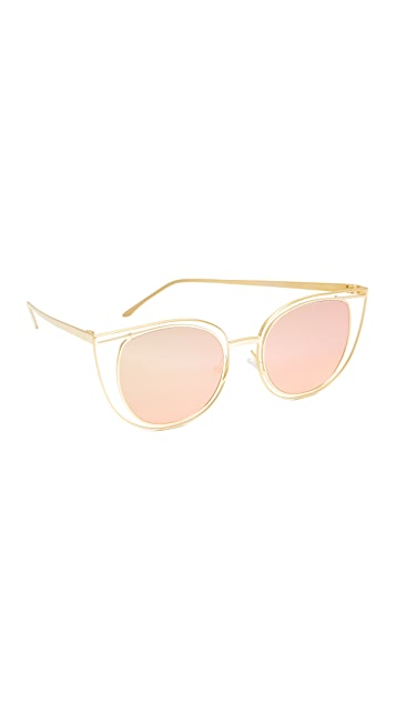 Thierry Lasry Eventually Flat Lens Sunglasses