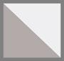 White Acetate/Silver Metal