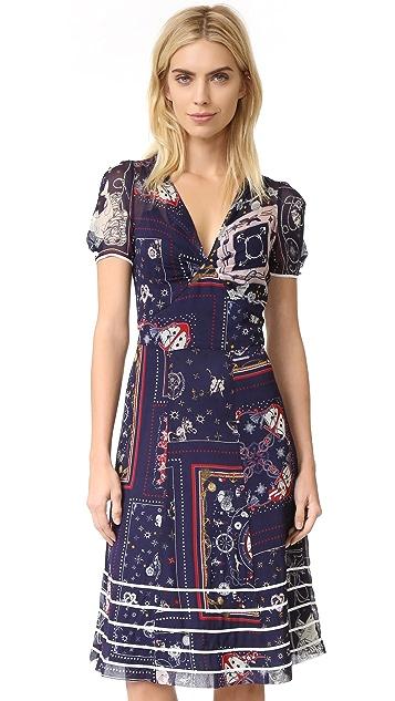 Hilfiger Collection Bandana Long Tea Dress
