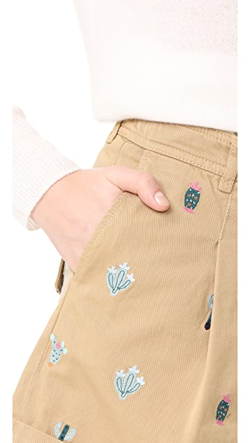 Hilfiger Collection Washed Chino Shorts