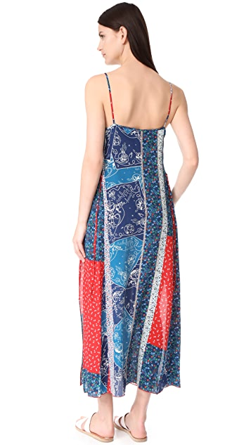 Hilfiger Collection Patchwork Maxi Dress