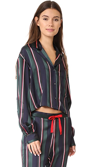 Hilfiger Collection Cropped Pyjama Shirt