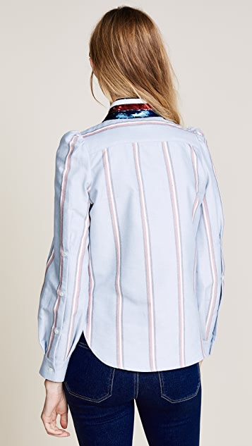 Hilfiger Collection Puff Sleeve Shirt
