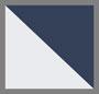 темно-синий каркас в технике узелкового батика