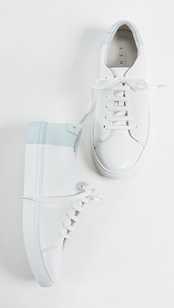 THEY NEW YORK Two Tone Low Sneakers