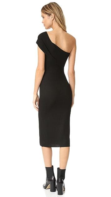 The Range One Shoulder Dress