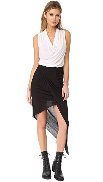 The Range Asymmetrical Skirt