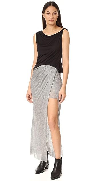 The Range Wrap Maxi Skirt