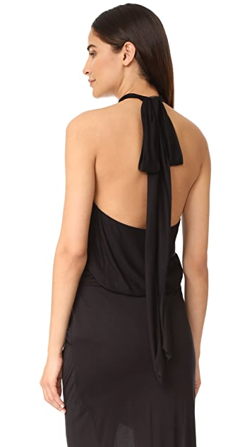 The Range Wrap Halter Top