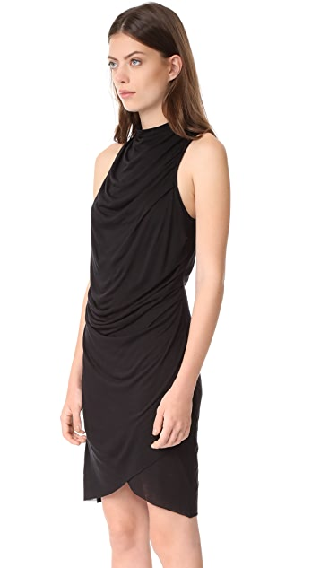 The Range Fluid Mock Neck Dress