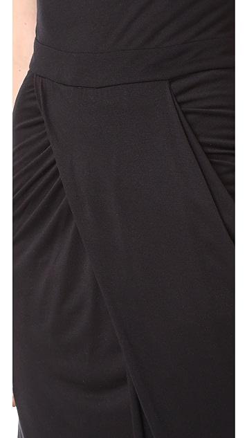 The Range Draped Maxi Dress