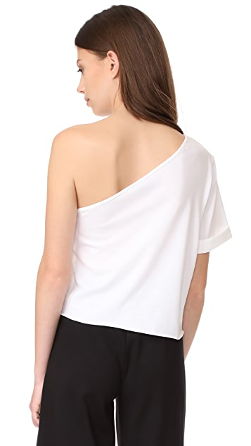 The Range Bare Shoulder Tee