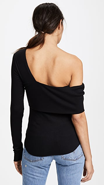 The Range Banded Bare Shoulder Top