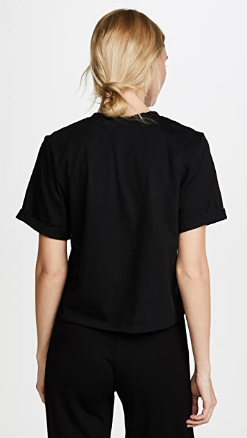 The Range Stark Jersey Cuffed Easy Tee