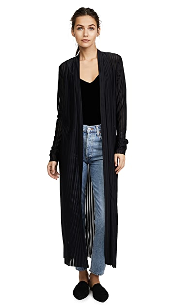 The Range Broken Stripe Robe Jacket