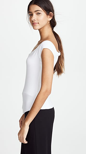 The Range Tilted Henley Tank