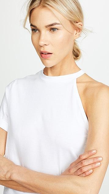 The Range Carved Shoulder Tee