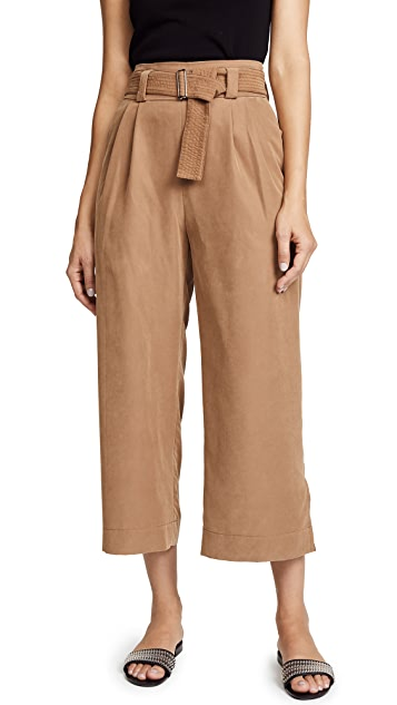 The Range Belted Wide Leg Pants