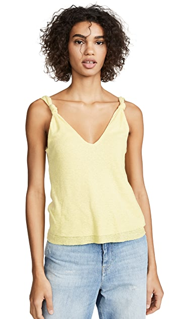 The Range Shadow Linen Tank