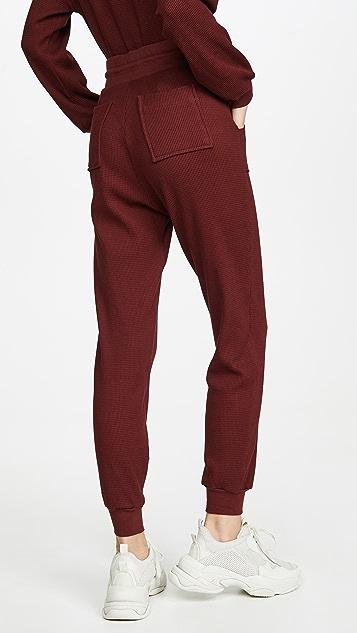 The Range Утепленные брюки для бега Stark