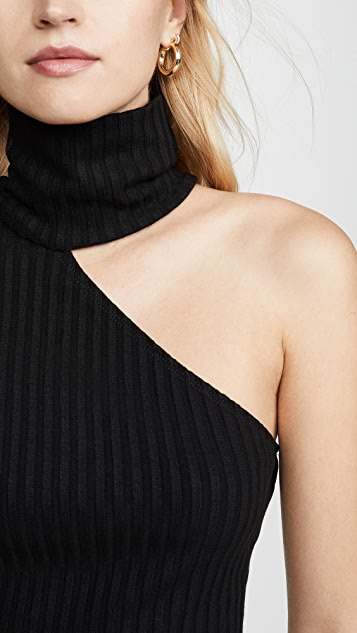 The Range Framed Rib Carved Turtleneck