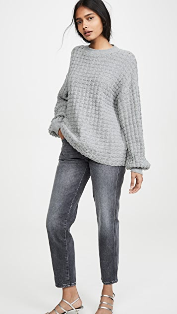 The Range Exaggerated Thermal Sleeve Knit