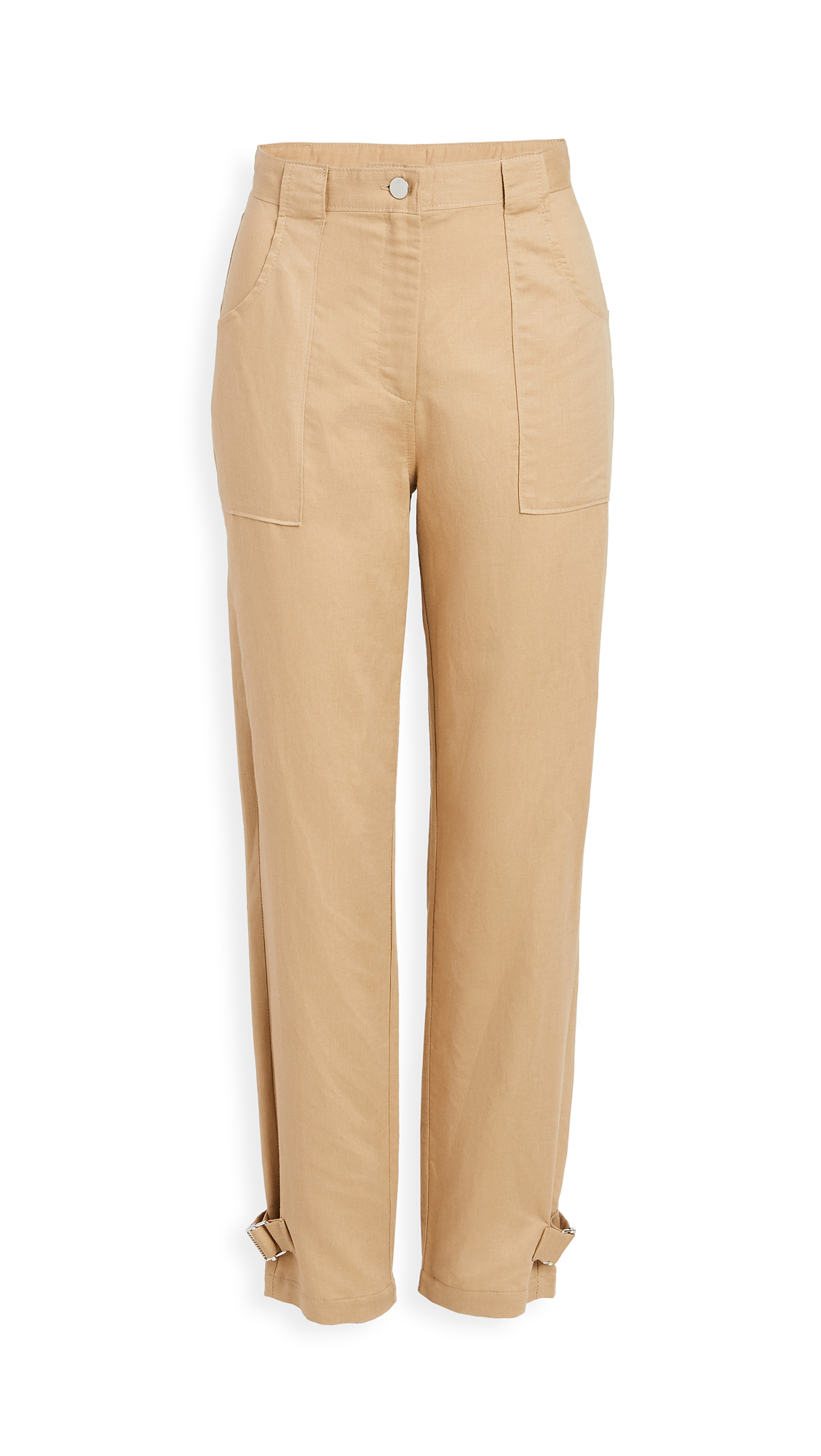 The Range Tide Linen Twill Utilitarian Straight Pants