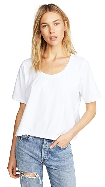 Three Dots Boxy Tee