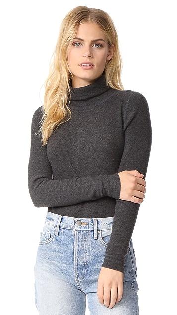 Three Dots Cozy Turtleneck Sweater