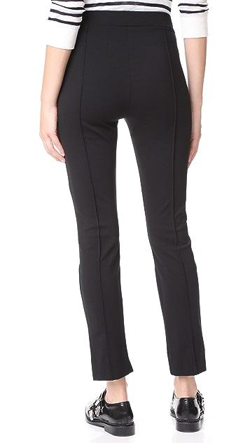 Three Dots Ponte Pintucked Pants