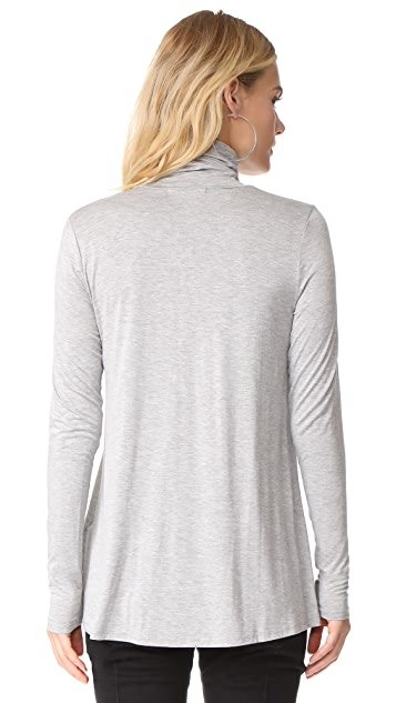 Three Dots Relaxed Turtleneck