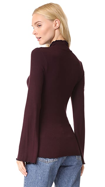 Three Dots Long Sleeve Turtleneck