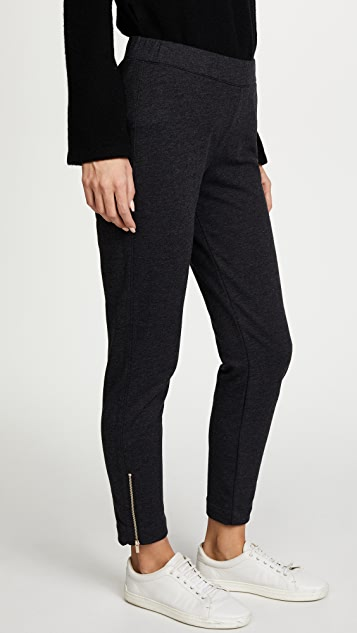 Three Dots Sweatpants with Zips