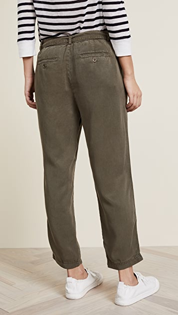 Three Dots All Weather Twill Pleated Pants