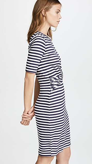Three Dots Nantucket Stripe Dress