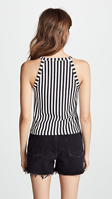 Three Dots Cape Cod Striped Tank