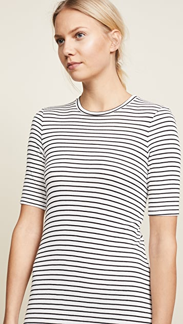 Three Dots Hyannis Stripe Easy Dress