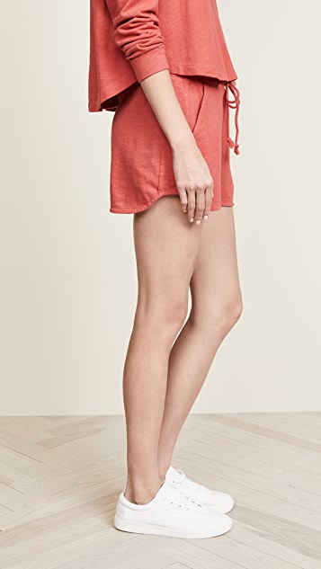 Three Dots Slub Shorts